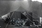قلیان و چادر