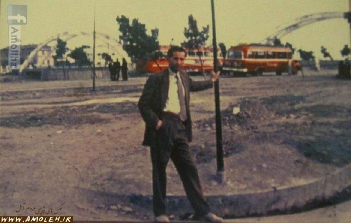 ایستگاه اتوبوس – دم پل آمل