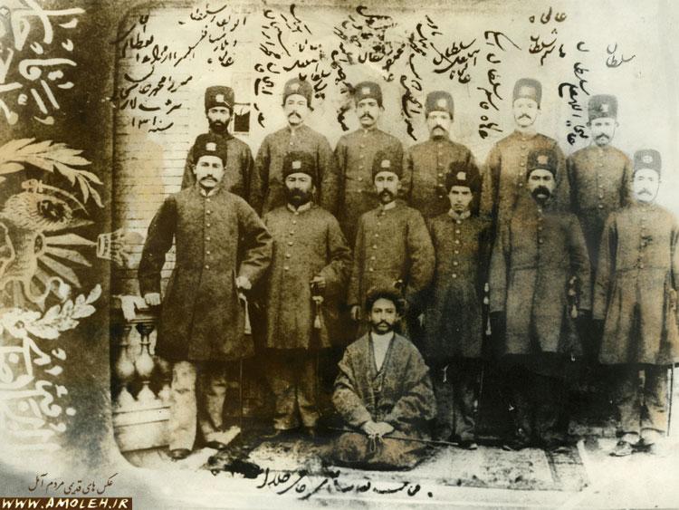 افسران قاجار – ۱۲۷۰ خورشیدی