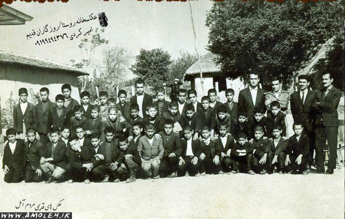 مدرسه پاشاکلا دشت سر – اوایل دهه ۴۰