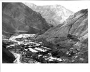 اردوی ناصرالدین شاه در دره لار برای شکار