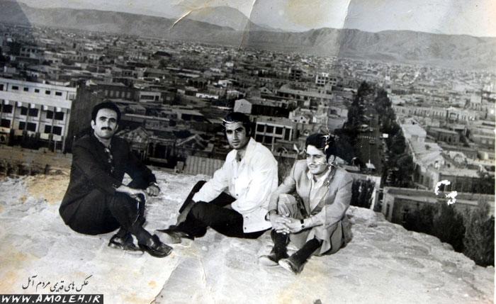 بازدید دانشجویان آمل در تبریز – ۱۳۵۱