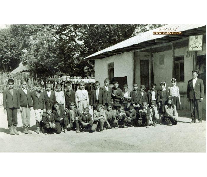 مدرسه پاشاکلا دشت سر – دهه ۴۰