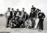 دانش آموزان سال آخر دبیرستان پهلوی - 1341