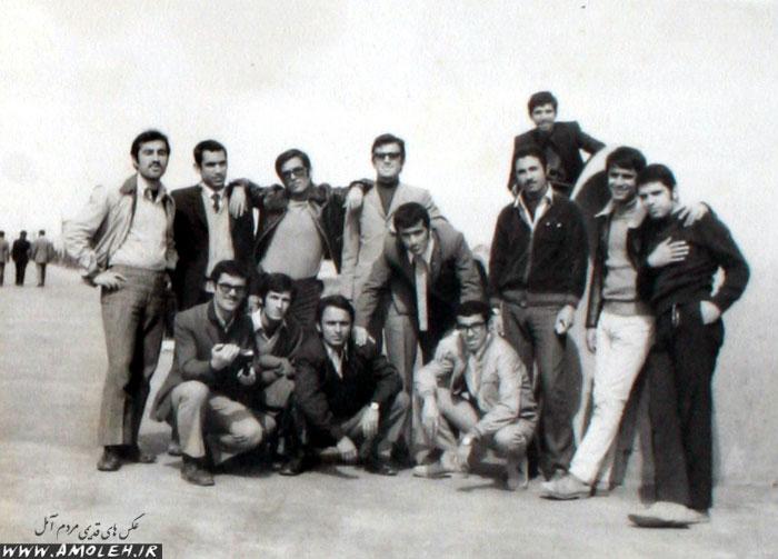 دانش آموزان سال آخر دبیرستان پهلوی – ۱۳۴۱
