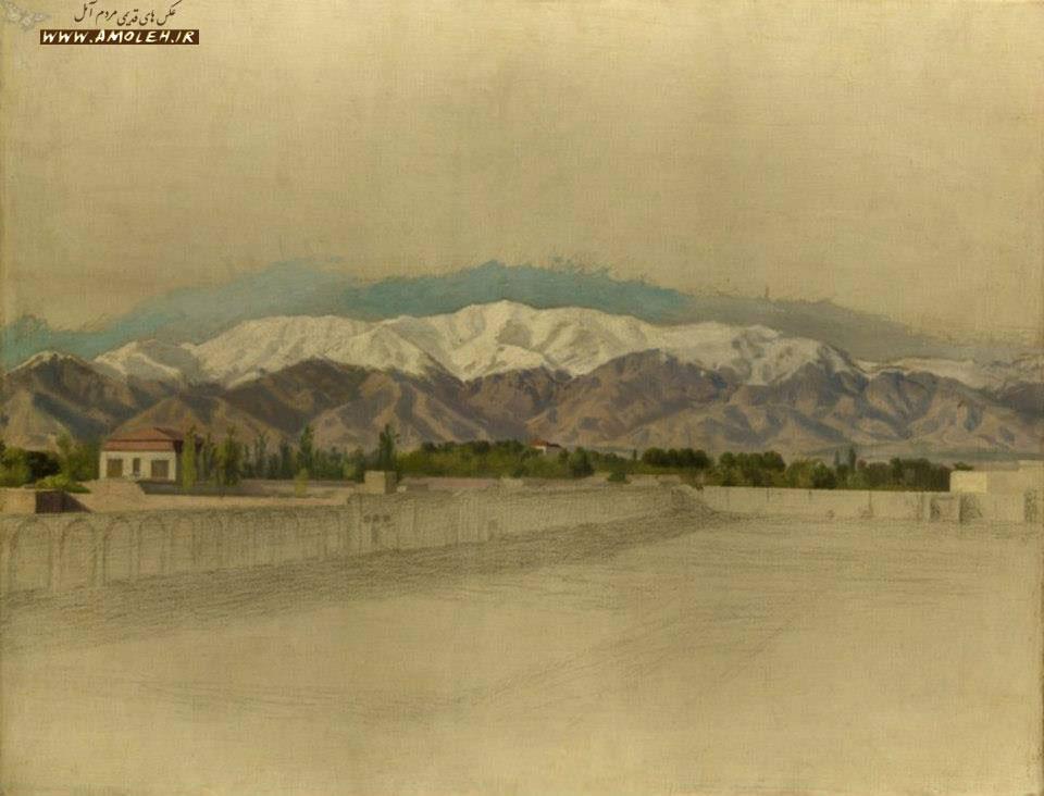 البرز کوه – نقاشی کمال الملک