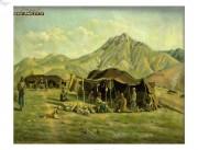 دورنمای لار - نقاشی کمال الملک