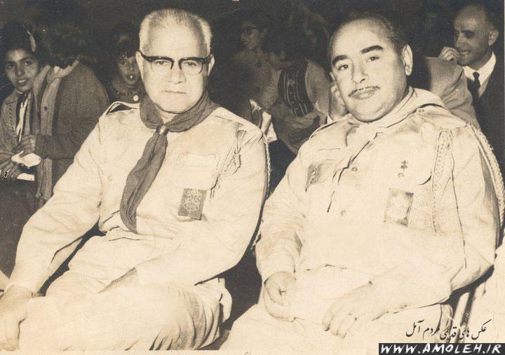 رئیس فرهنگ و رئیس هیات کشتی آمل – دهه ۴۰