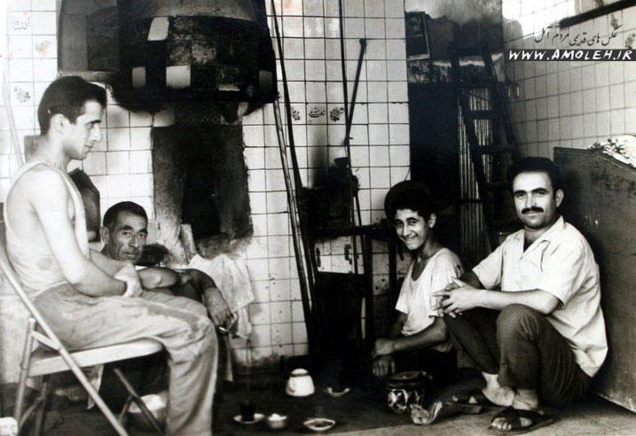 نانوایی سنگکی دهه چهل – خیابان امام رضا (ع) آمل