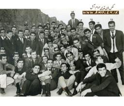 دانشجويان آملي دانشگاه تهران سال 1347