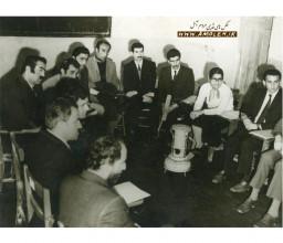 جلسه راهنمايان پيکار با بي سوادي آمل دهه 40