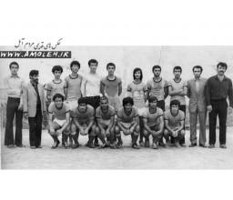 تيم فوتبال آمل اواخر دهه 40