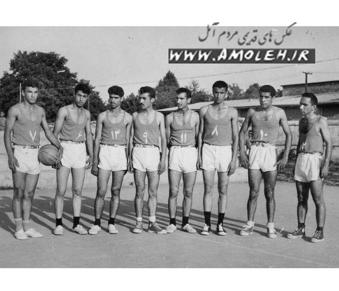 تیم بسکتبال آمل دهه ۱۳۴۰