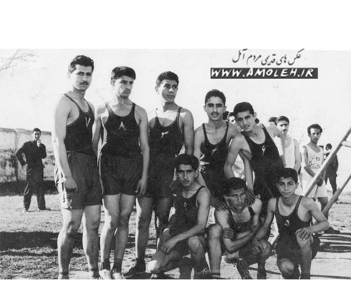 تیم بسکتبال آمل سال ۳۶-۱۳۳۵