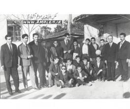 پرسنل و دانش آموزان دبستان فرهنگ سال 43