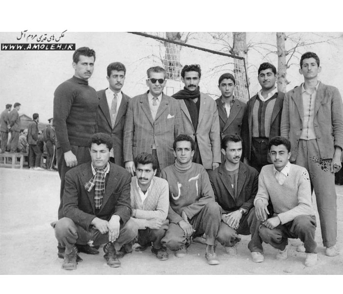 تیم والیبال آمل دهه ۳۰