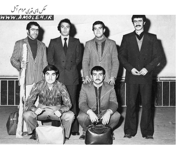 تیم وزنه برداری دهه ۵۰