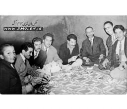 دهه 40 مدير و معلمين دبستان فرهنگ