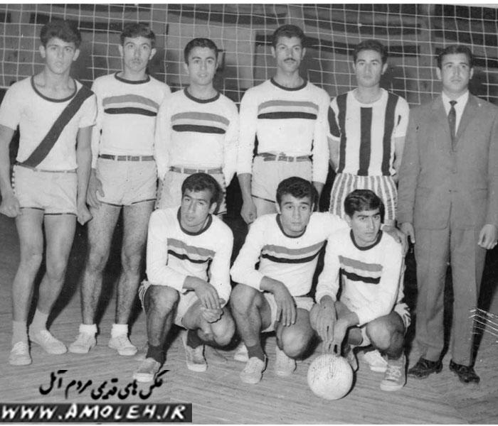 تیم والیبال آمل دهه ۴۰