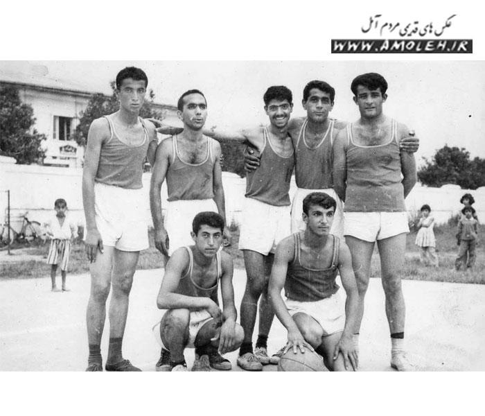 تیم بسکتبال آمل سال ۴۵-۴۴