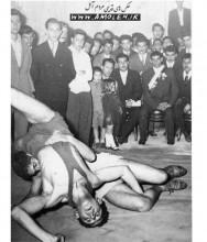 مسابقه کشتي دهه 30