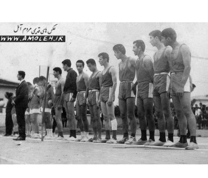 59 تيم واليبال آمل دهه 30