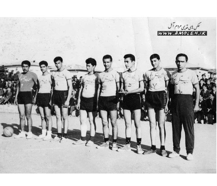 تیم بسکتبال آمل سال ۴۰