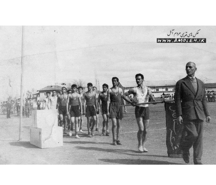 رژه ورزشکاران دهه ۲۰