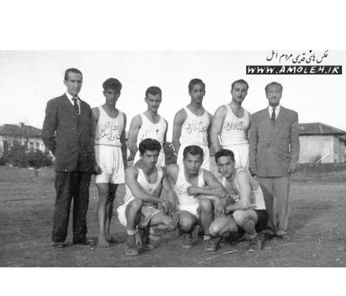 تیم ورزشی دبیرستان پهلوی سابق دهه ۲۰
