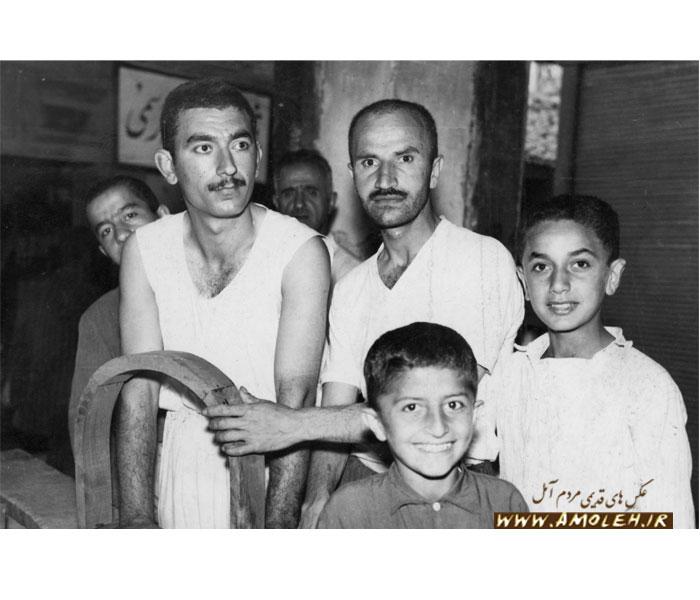نجاران آمل اواخر دهه ۳۰