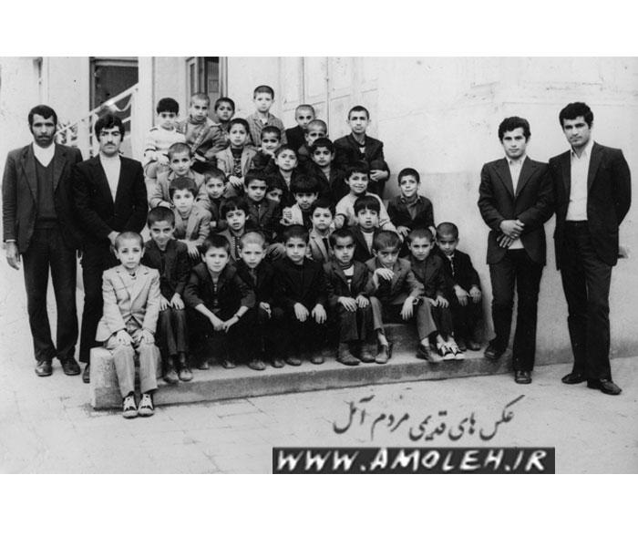 دانش آموزان کلاس دوم دبستان ملی اسلامی ولیعصر(ع)سال۵۱-۵۰