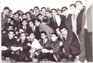 گردهمایی دانشجویان آملی در سال 1346