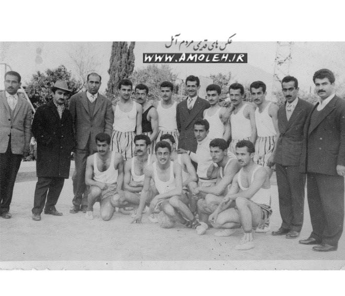مسابقه دوستانه والیبال با تیم منتخب آموزشگاههای شهسوار (تنکابن) سال ۳۸