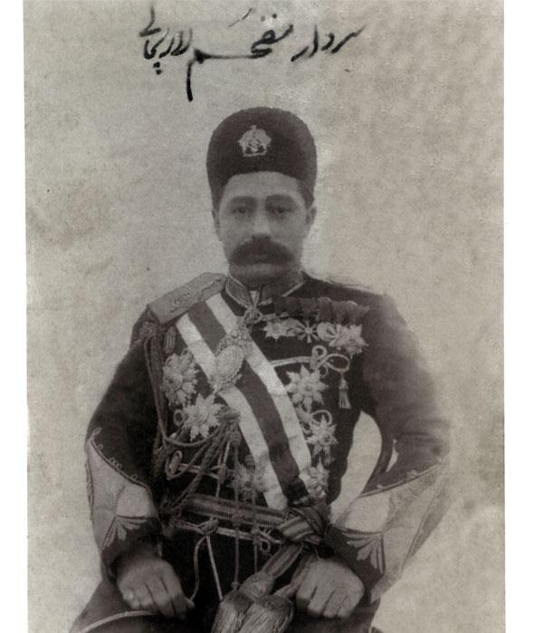 سردار مفخم لاریجانی