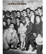 حضور امامعلي حبيبي در آمل دهه 30