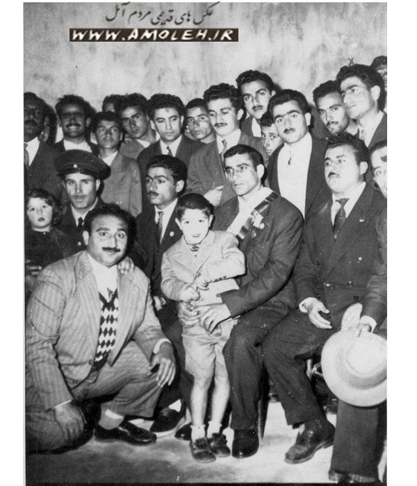 حضور امامعلی حبیبی در آمل دهه ۳۰