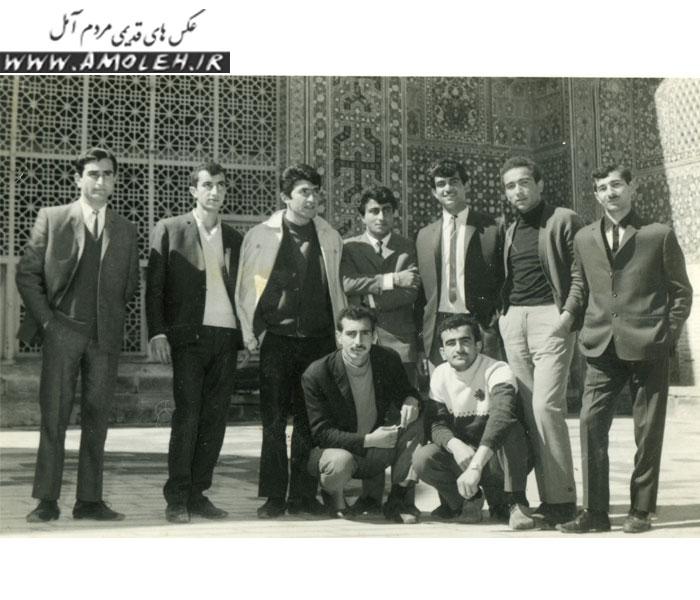 عکس یادگاری اواخر دهه ۴۰