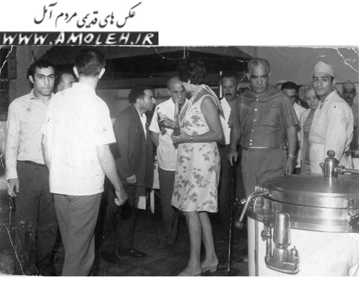 بازدید از کمپ شرکت نفت محمود آباد دهه ۴۰