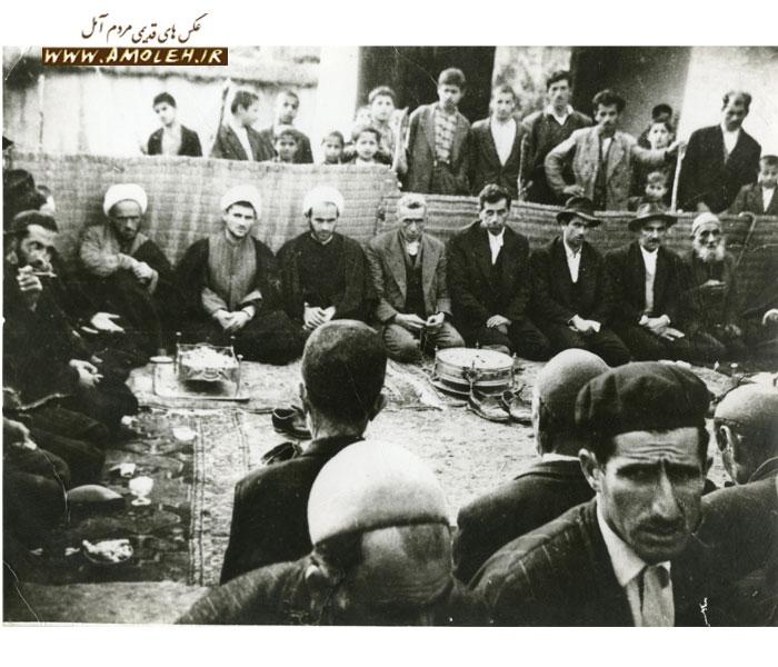 مجلس عروسی در فیروزکلا سال ۳۷
