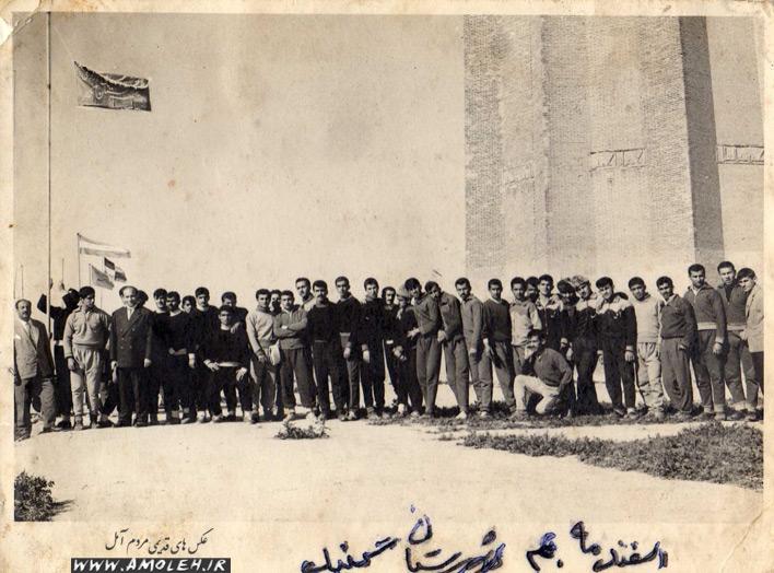مسابقات آموزشگاههای مازندران ۱۳۴۰ گنبد