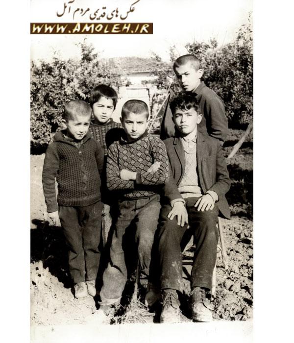 عکس یادگاری (محله اسپه کلا آمل) دهه ۴۰