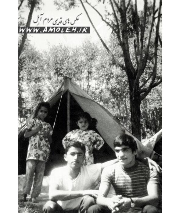عکس یادگاری در ییلاق پلور دهه ۴۰
