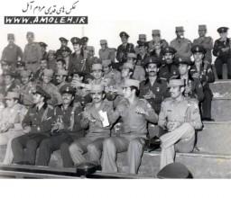 عکس دسته جمعي سپاهي دانش دوره سي دهه 50