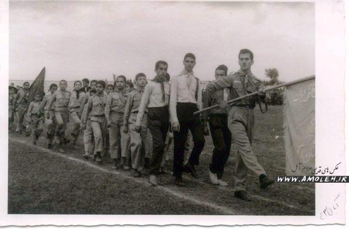 رژه دانش آموزان ۱۳۴۳