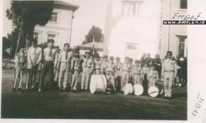 تمرین گروه سرود - 1346 آبان