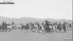 سفر ناصرالدین شاه به لار
