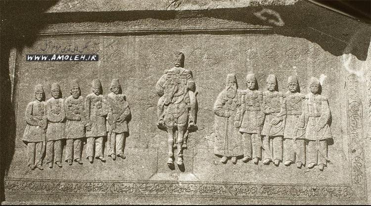 shekle shah ghajar closeup شکل شاه در دوره قاجار
