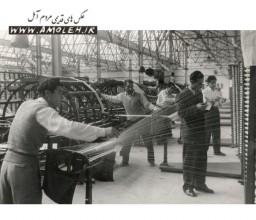 آقاي مهندس عبدالله اسلوب (اسلامي) آملي کارخانه حرير بافي چالوس دهه 30