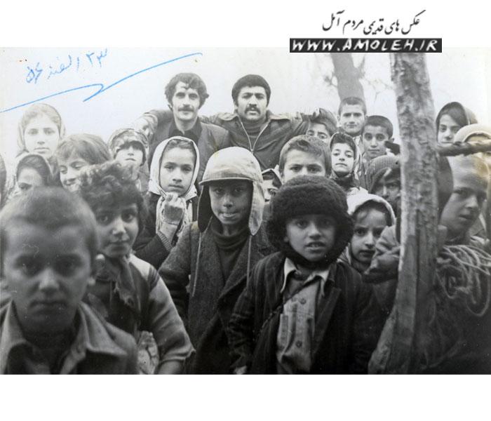 عکس یادگاری دانش آموزی سال ۵۶