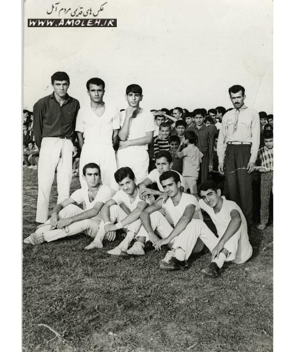 عکس یادگاری ژیمناستیک دهه ۵۰